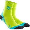 cep Dynamic+ - Chaussettes course à pied Homme - vert/turquoise